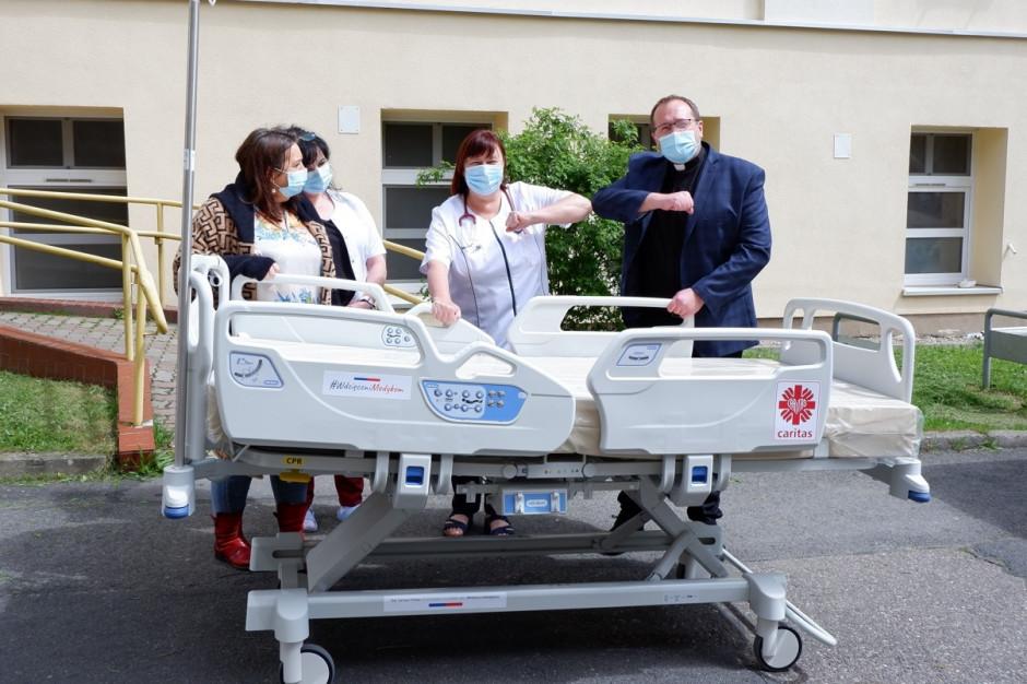 Caritas Polska: sześć kolejnych szpitali otrzyma pomoc w ramach akcji #WdzięczniMedykom