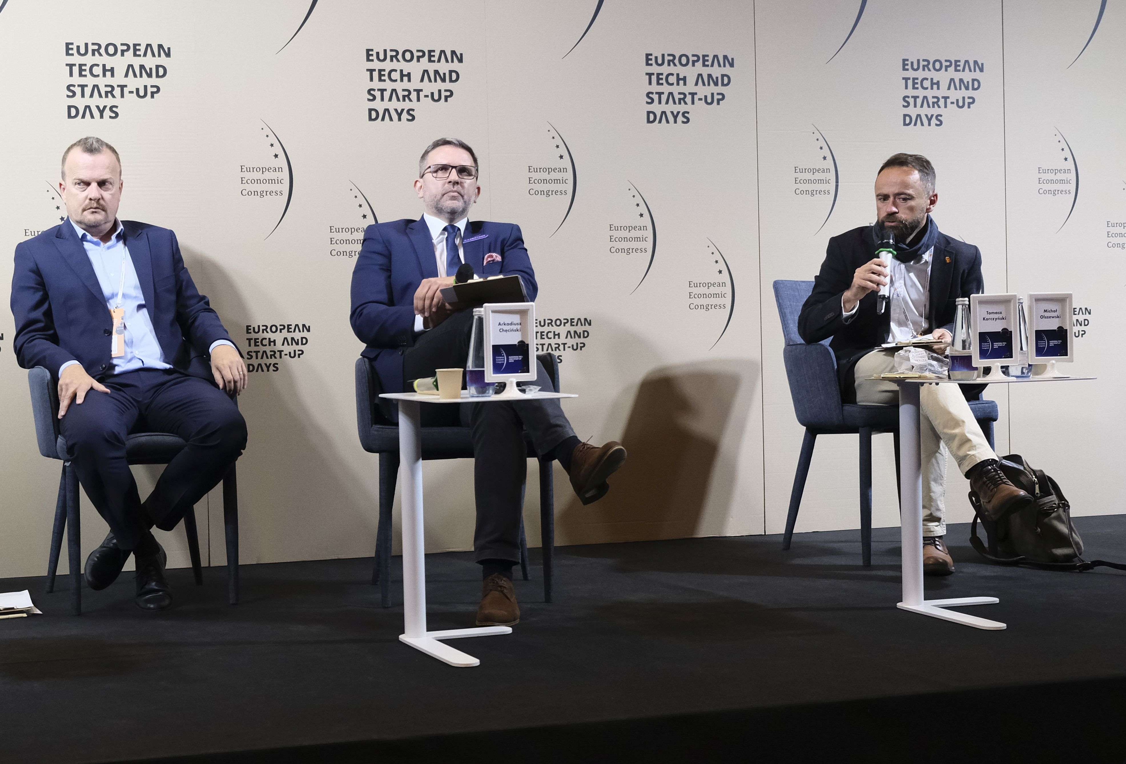 """Debata """"PPP - nowe otwarcie"""" podczas XII Europejskiego Kongresu Gospodarczego w Katowicach. Fot. PTWP"""