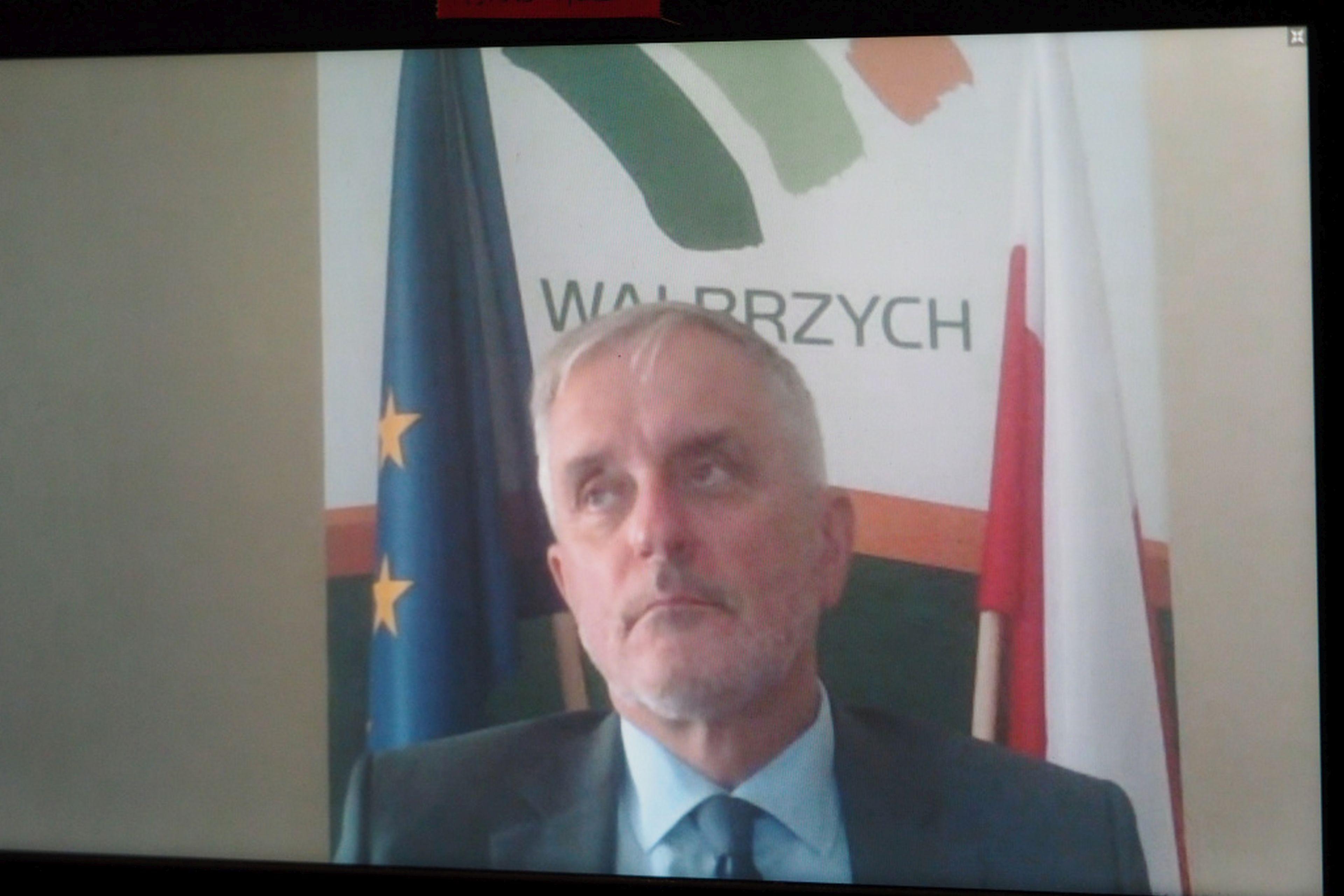 Roman Szełemej, prezydent Wałbrzycha. Fot. PTWP