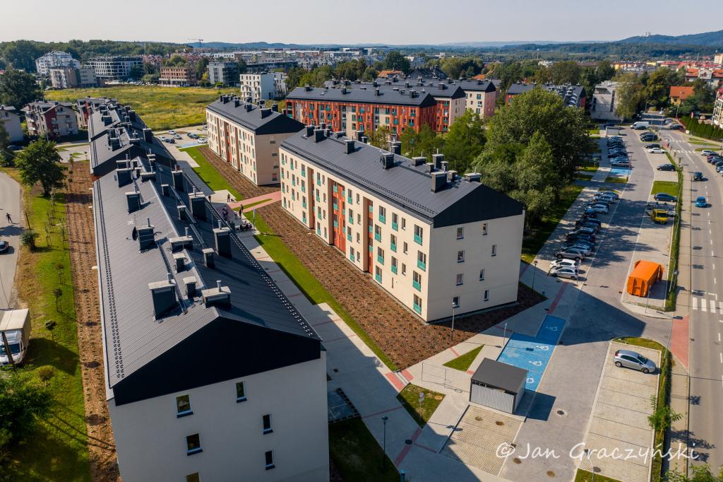Osiedle Przyzby-Zalesie to największy od lat mieszkaniowy projekt gminy Kraków (fot. krakow.pl/Jan Graczyński)