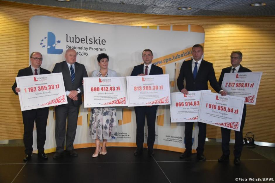 Lubelskie: Dotacje na rewitalizację m.in. zabytków i parków