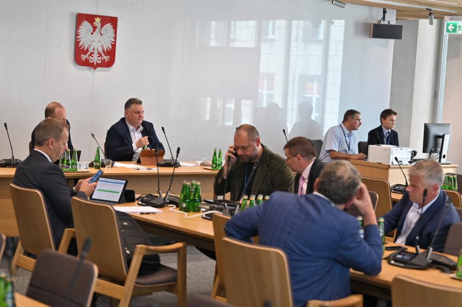 Sejmowa komisja za zmianami przepisów o transporcie kolejowym