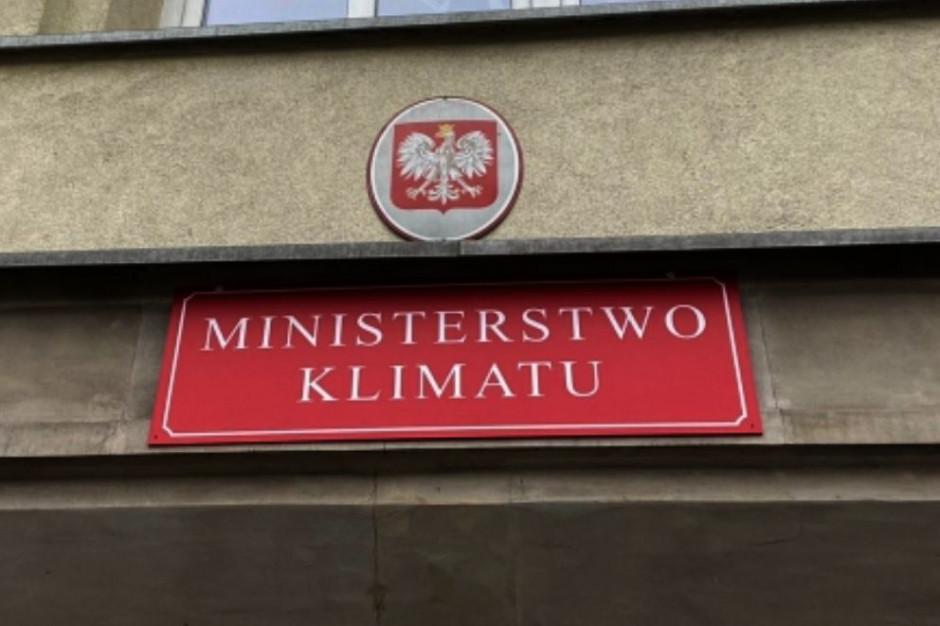 Ministerstwo Klimatu: Z niepokojem przyjmujemy propozycję KE ws. zwiększenia celu redukcji CO2