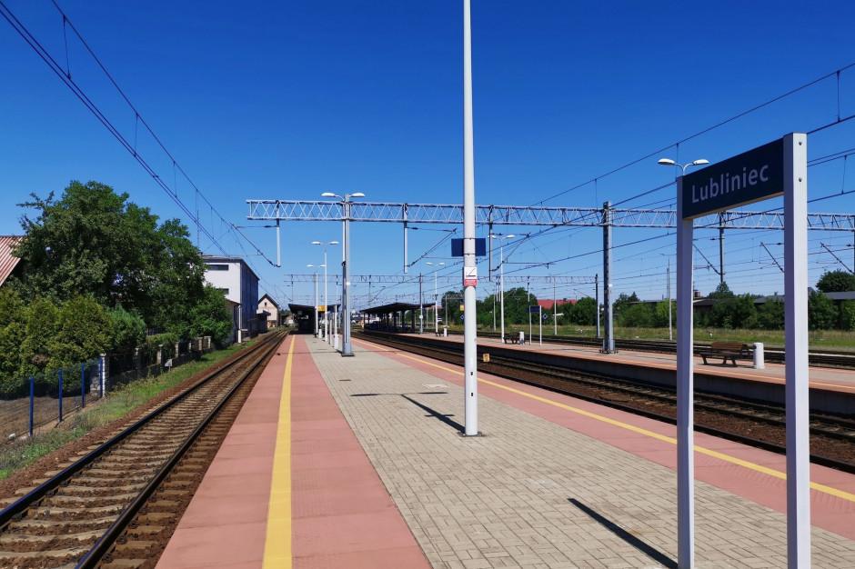 Modernizacja stacji kolejowej w Lublińcu na ukończeniu