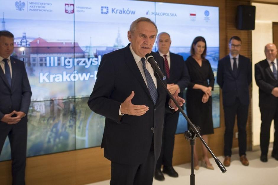 Igrzyska Europejskie Kraków-Małopolska 2023 ze wsparciem rządu