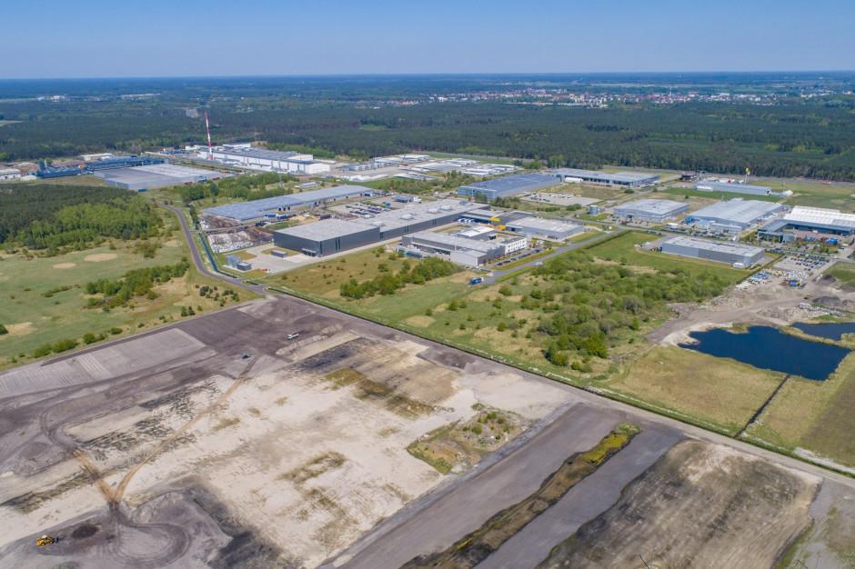 Park logistyczny w Goleniowie z kolejną inwestycją