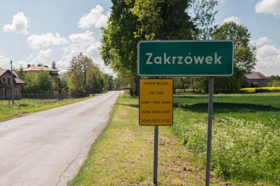 Gmina Zakrzówek pozywa Barta Staszewskiego za akcję Strefy wolne od LGBT