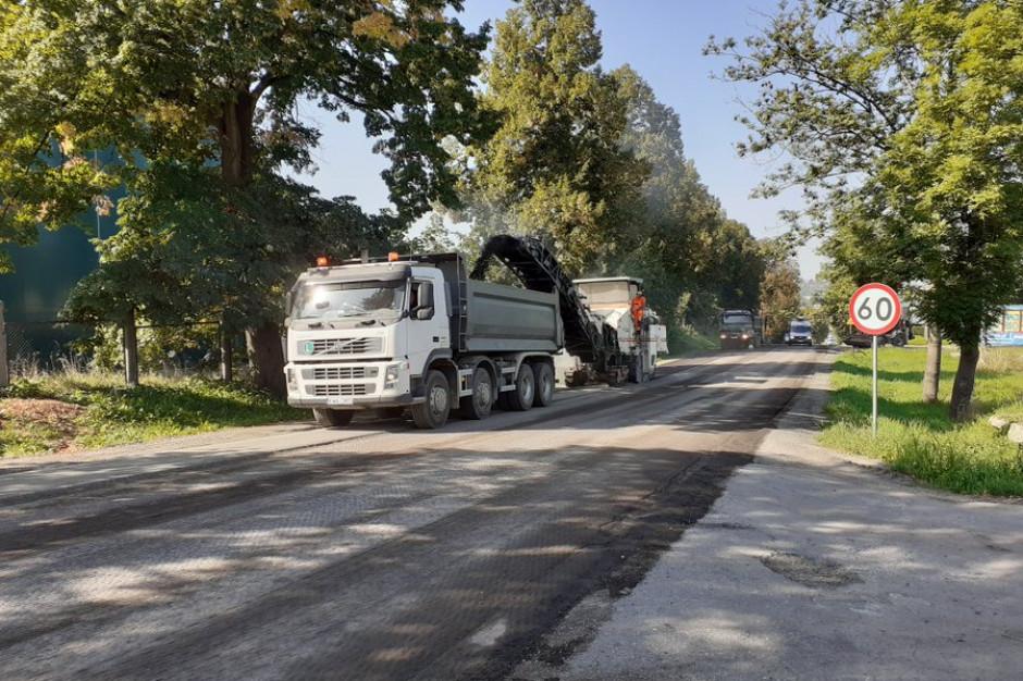 Małopolskie: Ruszył remont fragmentu drogi Wadowice-Klecza Dolna