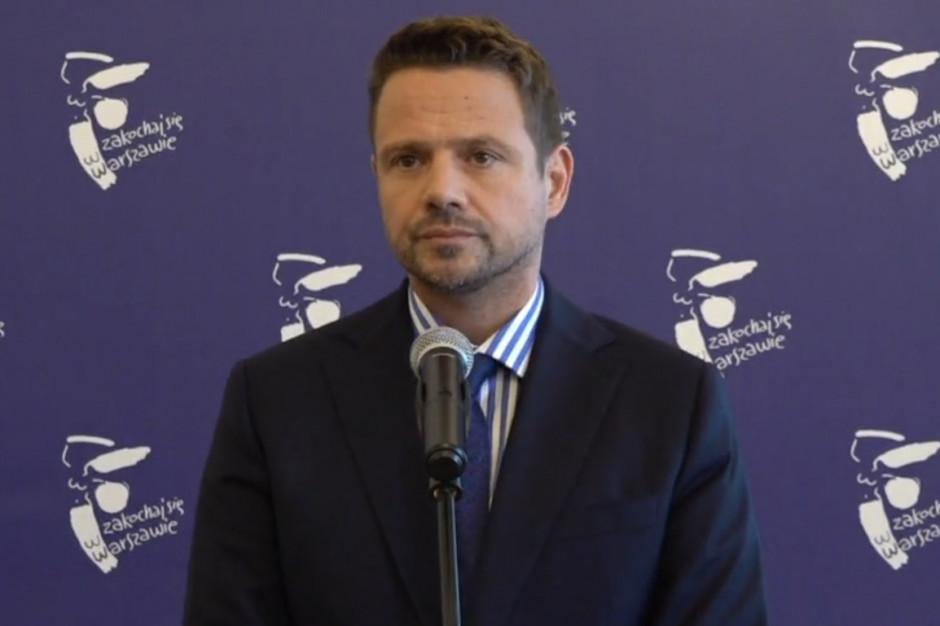 Trzaskowski: Samorządy będą musiały podejmować trudne decyzje. Prezydent Chełma odpowiada