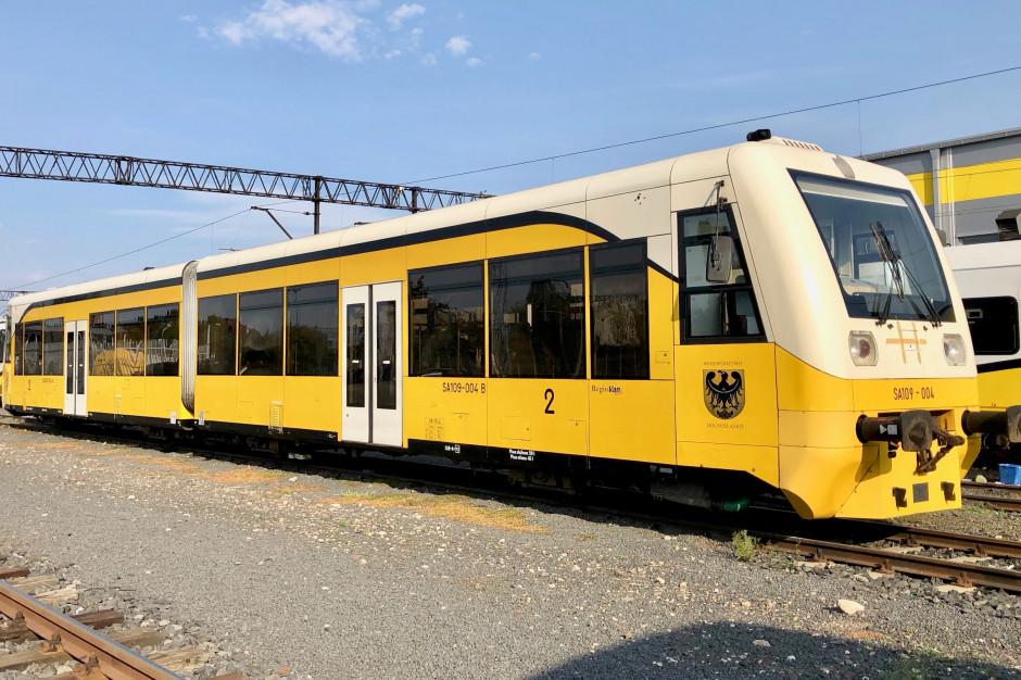 Koleje Dolnośląskie modernizują szynobusy