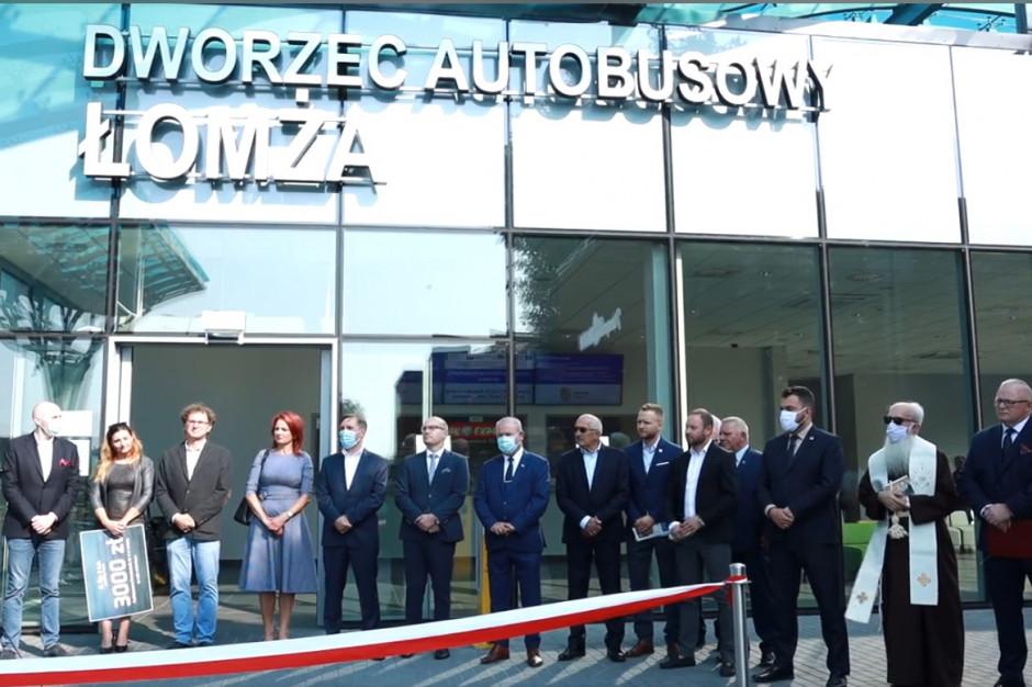 Łomża ma nowe centrum przesiadkowe z dworcem autobusowym