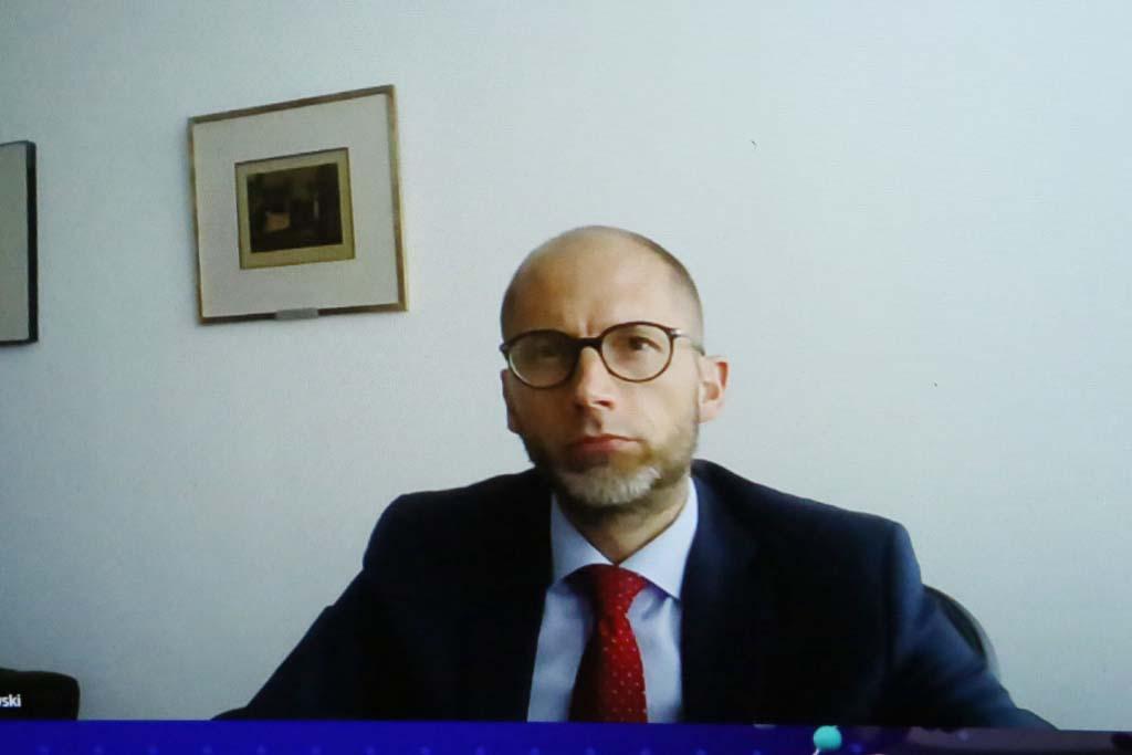 Piotr Michałowski, dyrektor biura w Polsce Europejskiego Banku Inwestycyjnego Fot. PTWP