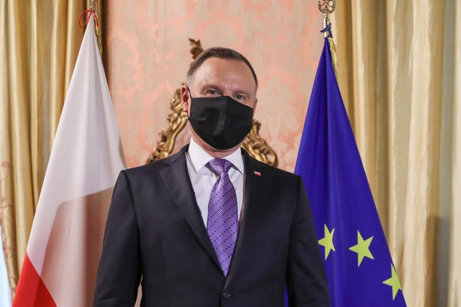 Prezydent: Pandemia  jest pod kontrolą. Spodziewamy się wypłaszczenia