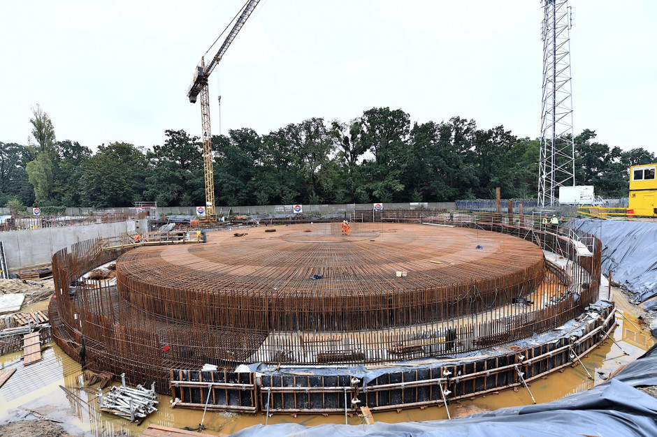 Wrocławskie MPWiK buduje cztery zbiorniki retencyjne na wypadek deszczów