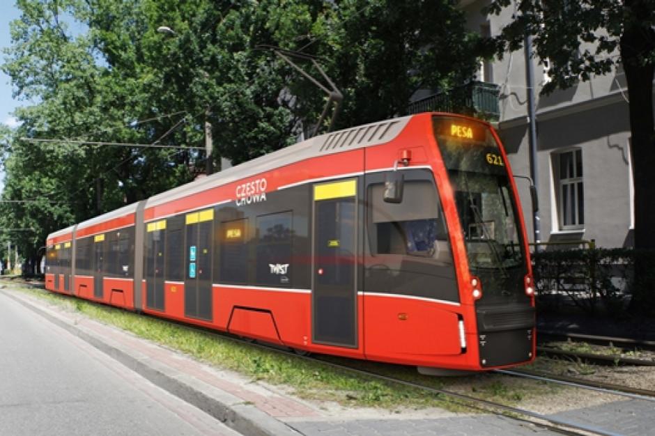 Częstochowa ma już wszystkie tramwaje z nowego zamówienia