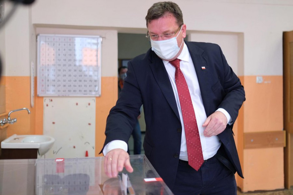 Michał Wójcik kandydatem na ministra w KPRM
