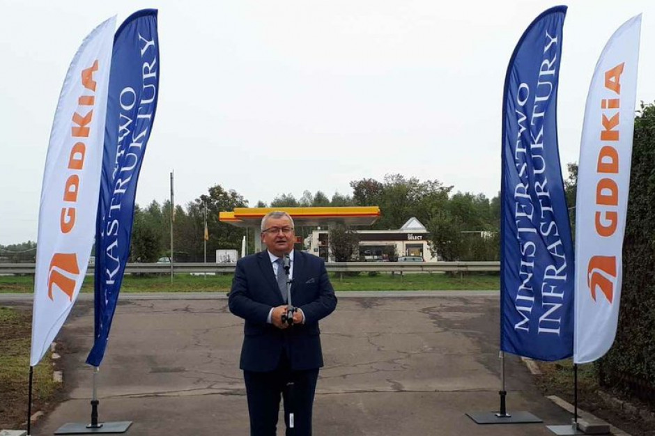 Adamczyk: Trasa od Czosnowa do Gdańska gotowa w 2025 roku