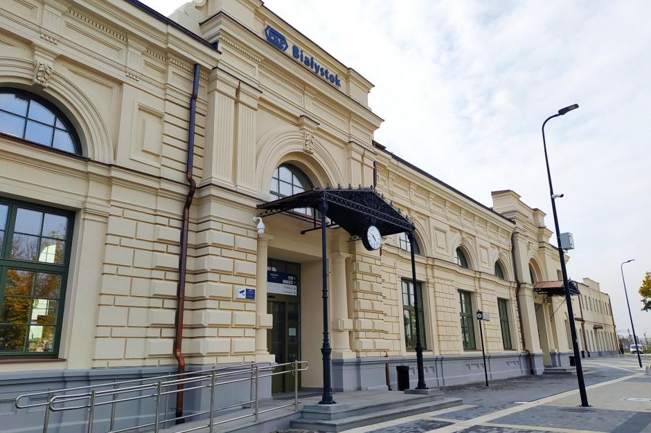 Nowocześnie i z poszanowaniem historii. Dworzec w Białymstoku otwarty dla podróżnych