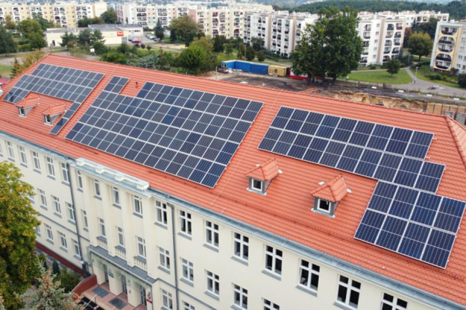 660 paneli fotowoltaicznych na miejskich budynkach w Bydgoszczy