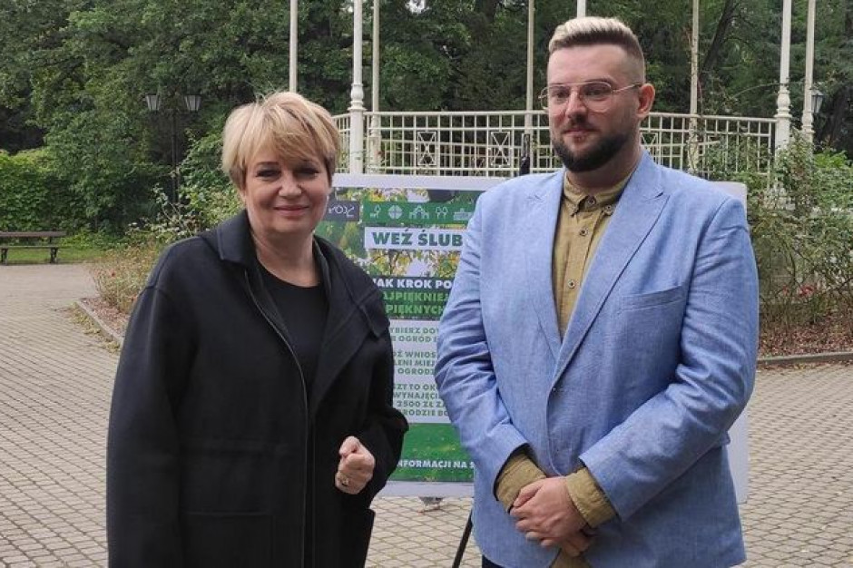 Prezydent Łodzi zachęca do urządzania ślubów w miejskich parkach