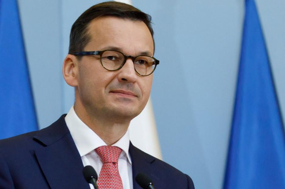 Katowice: Odprawa wojewodów z udziałem premiera Morawieckiego