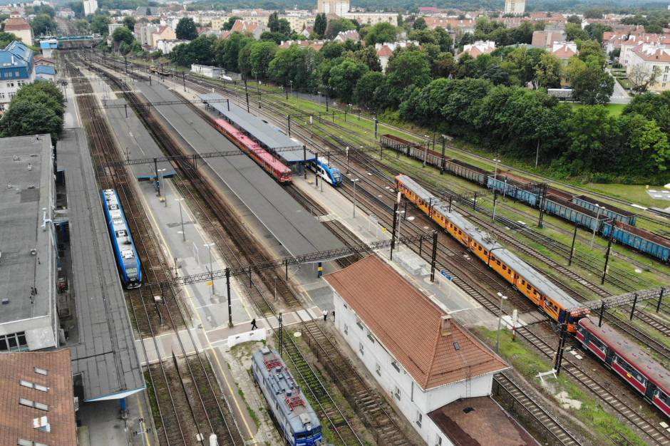 Ogłoszono przetarg na przebudowę stacji Olsztyn Główny