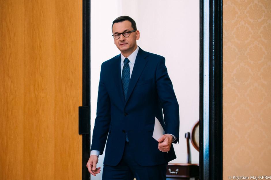 Premier zwrócił się do prezydenta o zmianę terminu zaprzysiężenia rządu