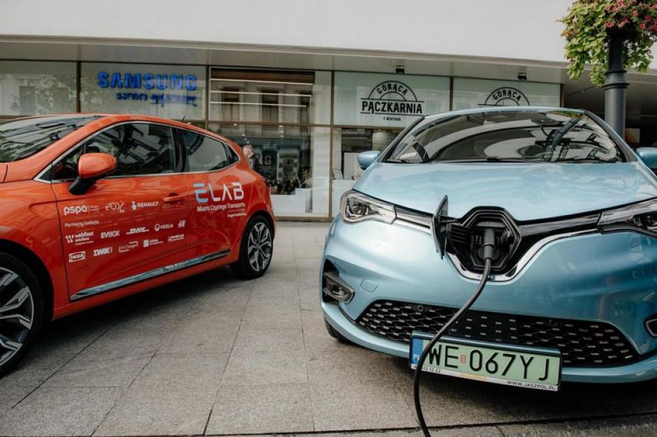 """W Łodzi porównają """"elektryki"""" z autami spalinowymi"""