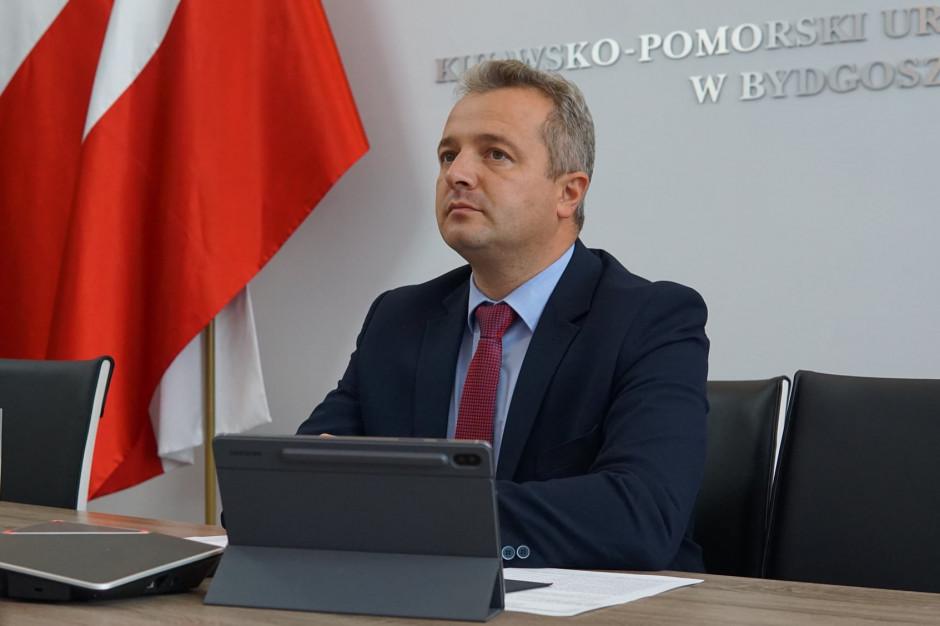 Kujawsko-pomorskie: Wojewoda Mikołaj Bogdanowicz na kwarantannie