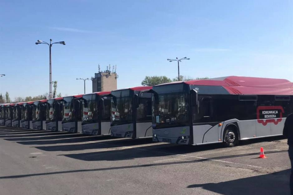 PKS: Na ulice Bielska-Białej wyjedzie 13 nowych autobusów