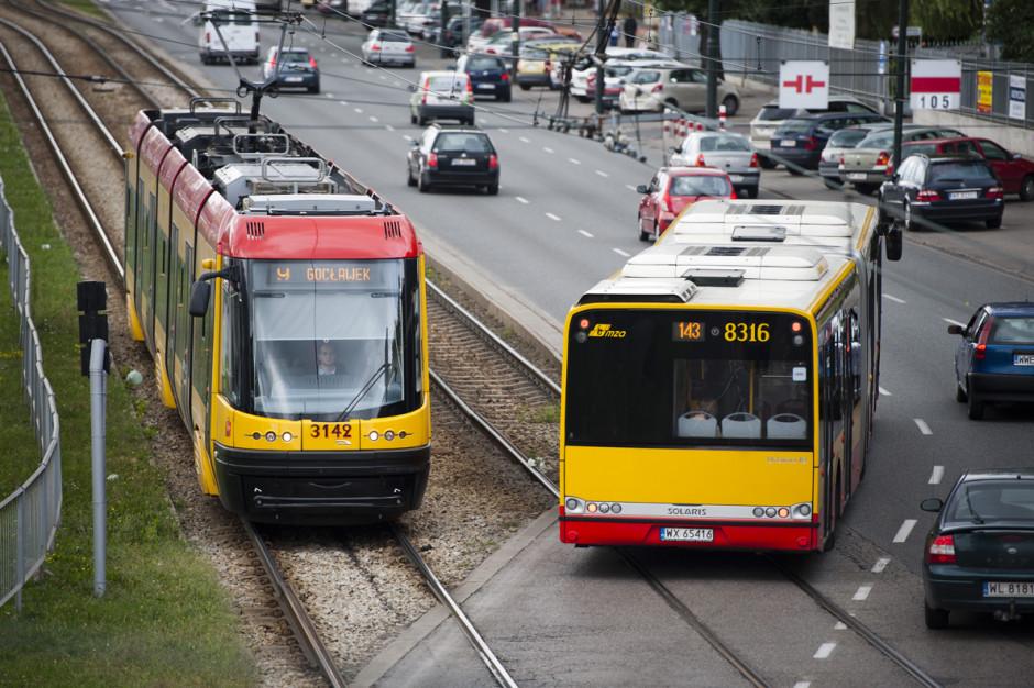 Warszawa: Rusza remont torowiska tramwajowego