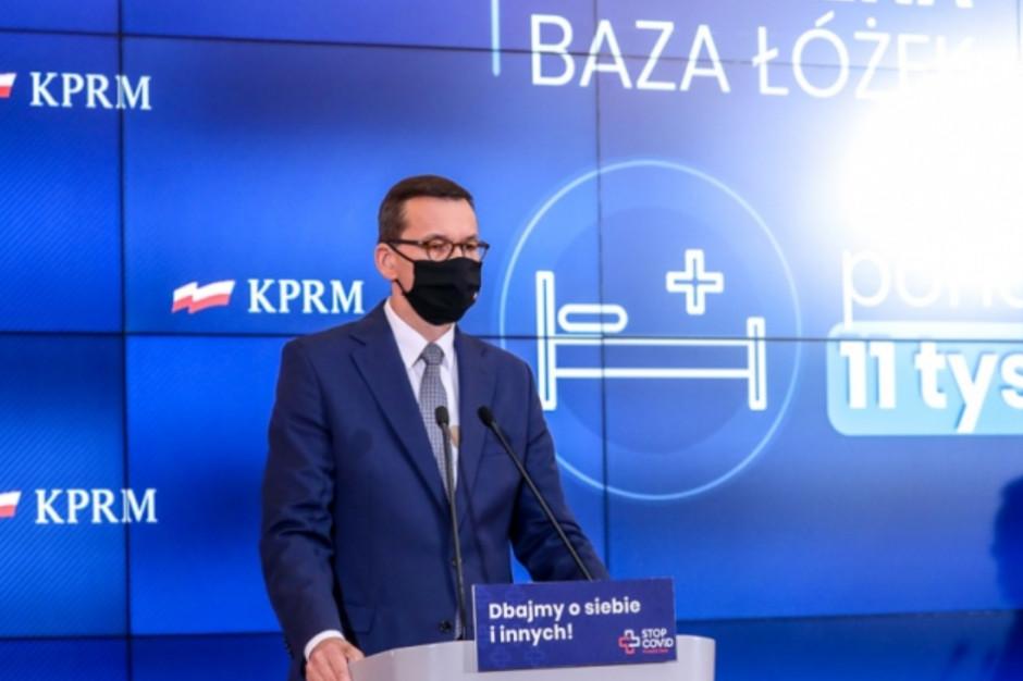 Premier przekazał samorządowcom główne założenia strategii walki z pandemią