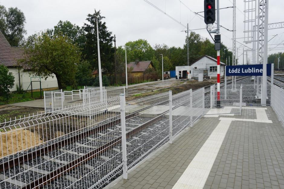 Nowy peron na stacji Łódź Lublinek