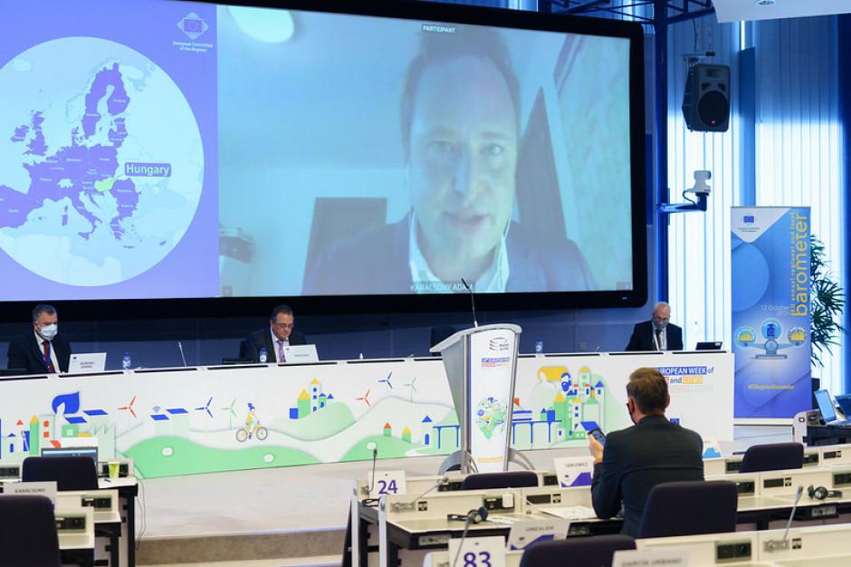 Komitet Regionów: Samorządy najważniejsze w walce z COVID-19