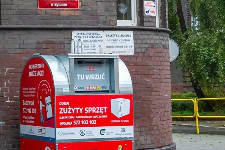 Pojemniki na elektrośmieci na stałe staną na ulicach Bytomia