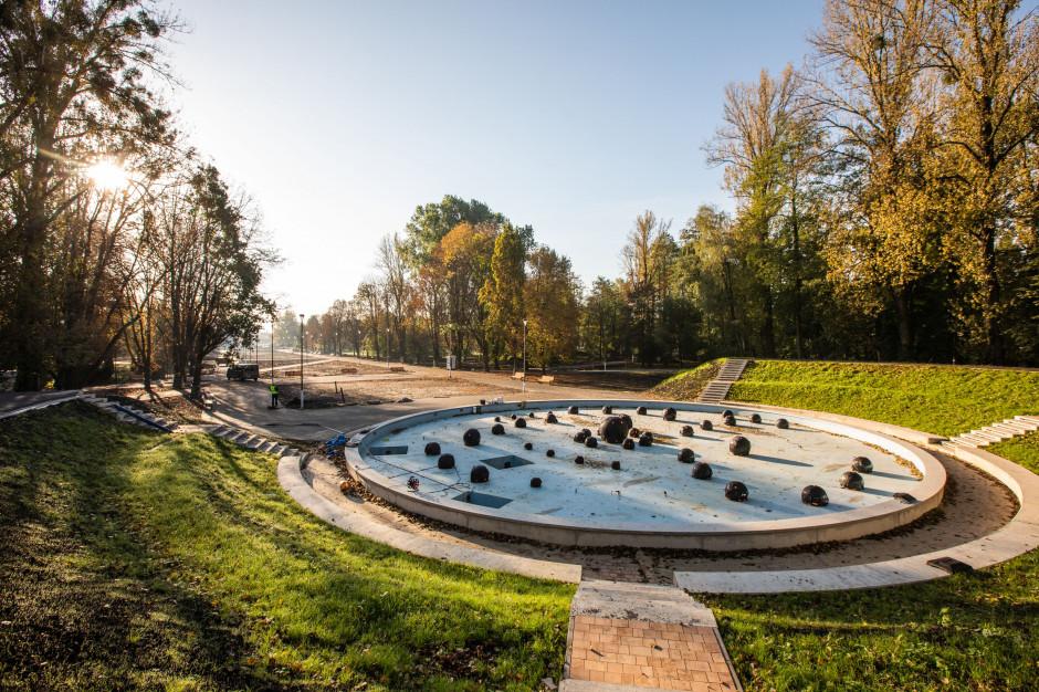 Rewitalizacja przyrodnicza Parku Ludowego w Lublinie na ukończeniu