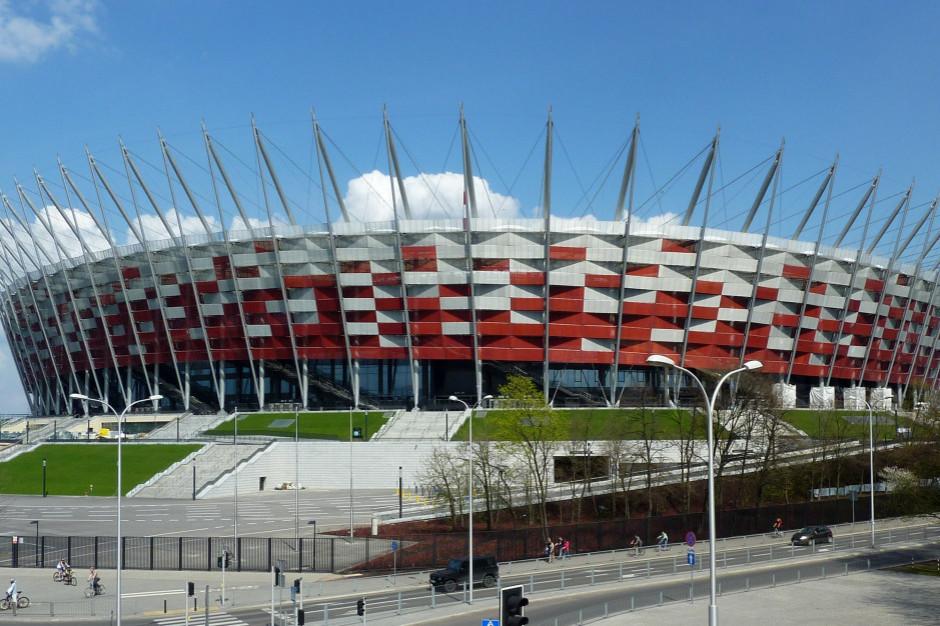 Szpital tymczasowy na Stadionie Narodowym jest budowany w etapach
