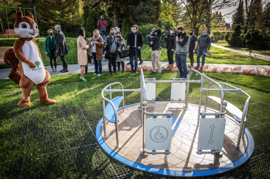 W Parku Śląskim otwarto integracyjny plac zabaw. W ramach budżetu obywatelskiego