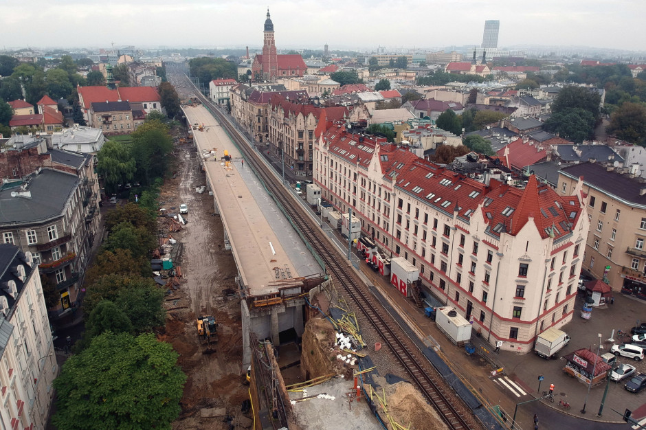 Kraków: Tereny po nasypie kolejowym będą zagospodarowane