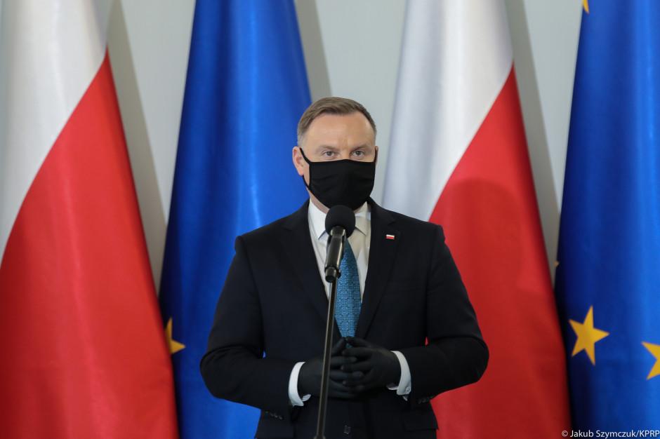 Prezydent: Nośmy maseczki i przestrzegajmy zasad sanitarnych