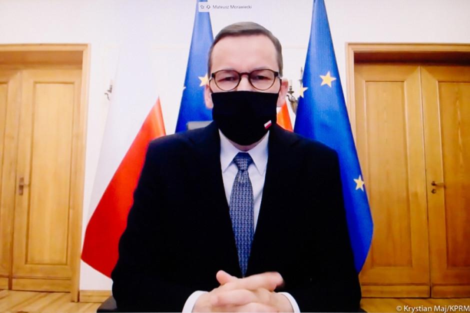 Premier Mateusz Morawiecki wygłosi orędzie