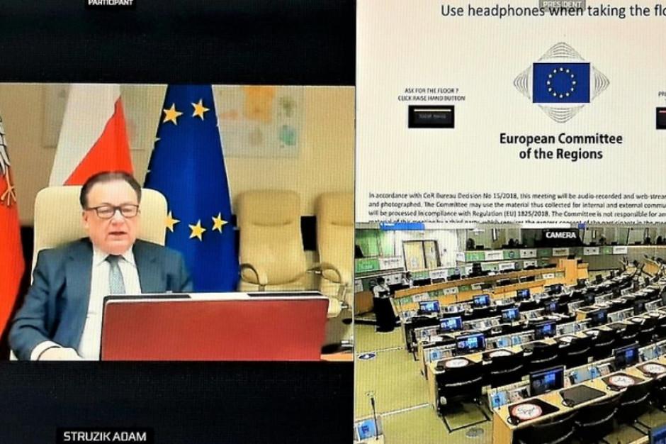O Zielonym Ładzie na posiedzeniu Europejskiego Komitetu Regionów