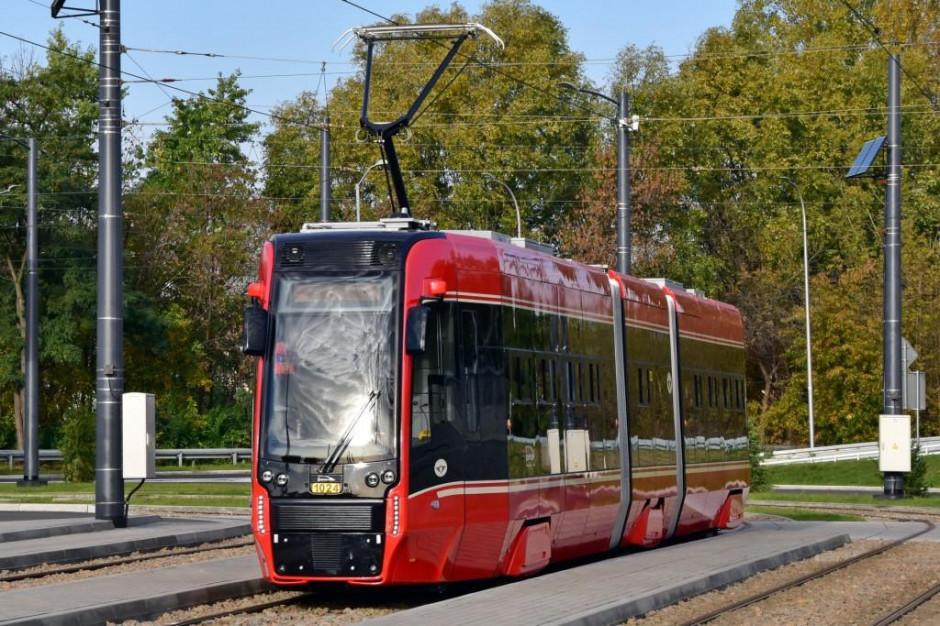 Tramwaje Śląskie wypuściły na trasę nowe wagony z Pesy