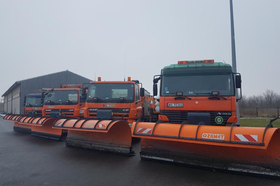Mazowieckie: 640 pojazdów zadba o przejezdność dróg zimą