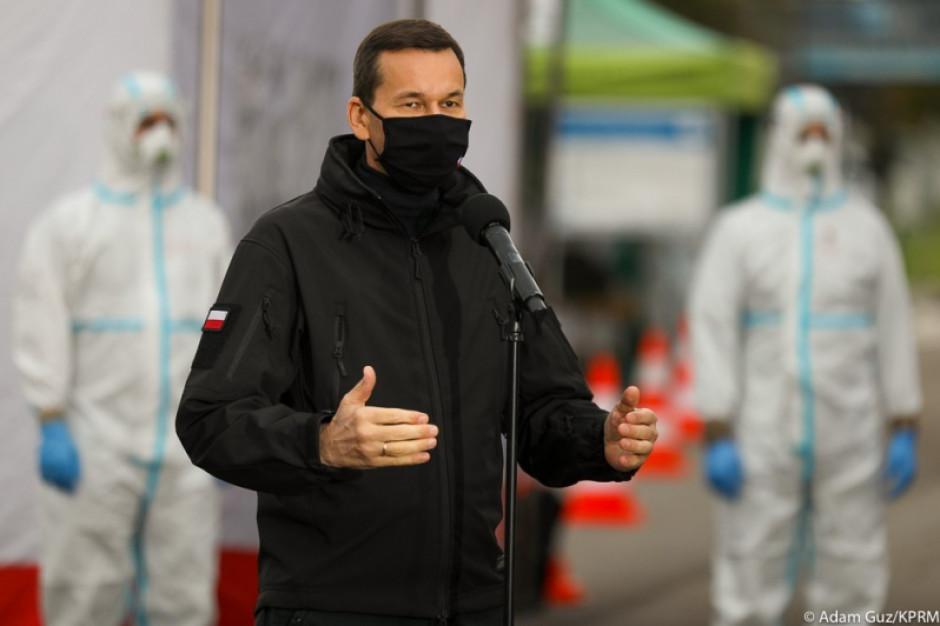 Premier: Wierzę, że przejdziemy pandemię zwycięsko, ale musimy przestrzegać obostrzeń