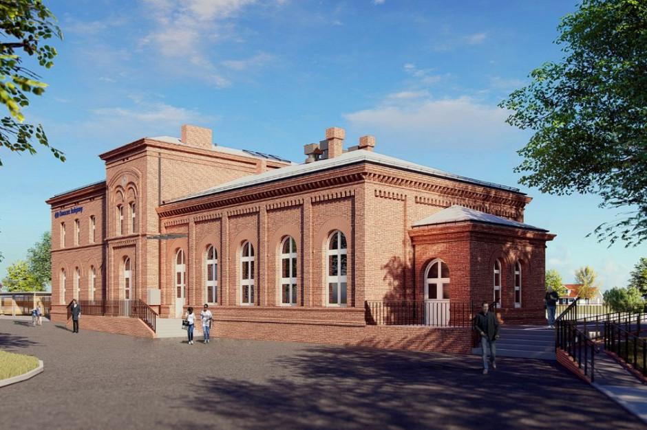 Wielkopolskie: Rozpoczęła się przebudowa dworca w Trzemesznie