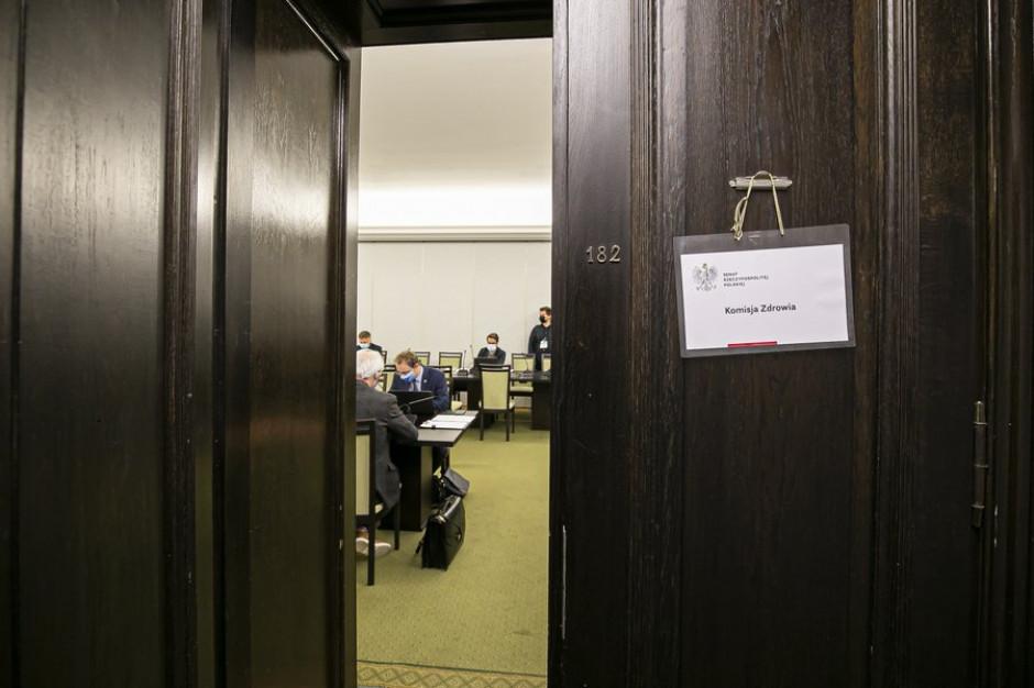 Senacka komisja zdrowia za poprawkami do tzw. ustawy covidowej