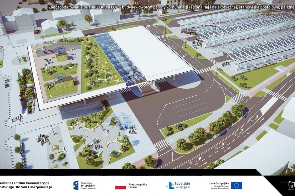 Przetarg na budowę Dworca Metropolitalnego w Lublinie rozstrzygnięty