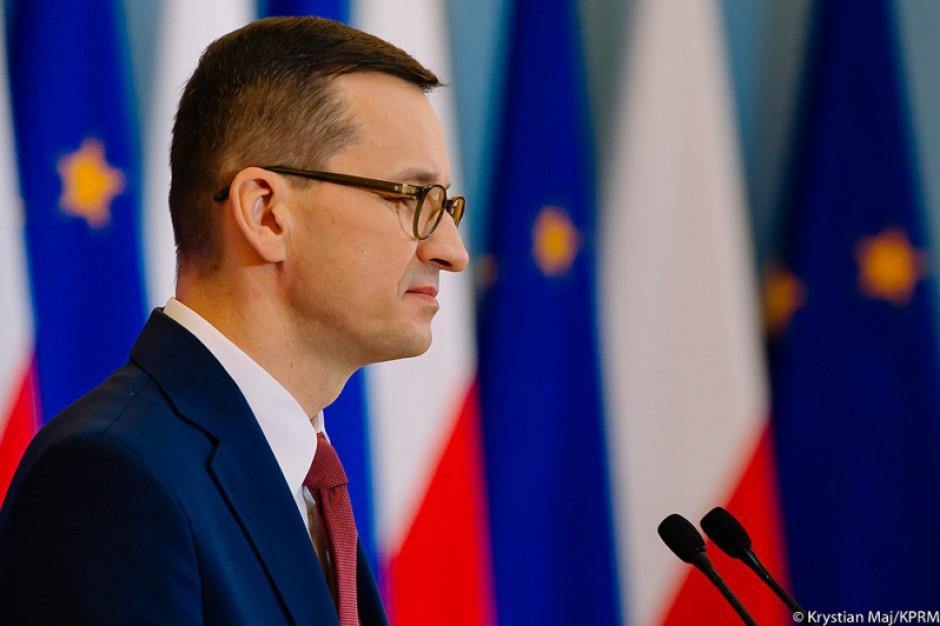 W czwartek na Stadionie Narodowym w Warszawie konferencja premiera Morawieckiego