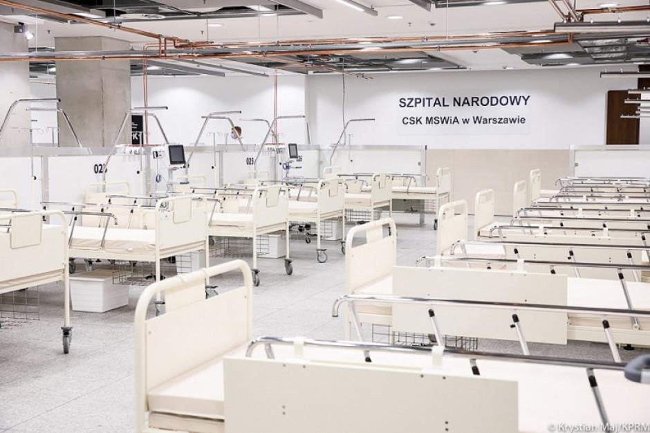 Szpitale tymczasowe zapewnią ok. 5,5 tys. dodatkowych łóżek